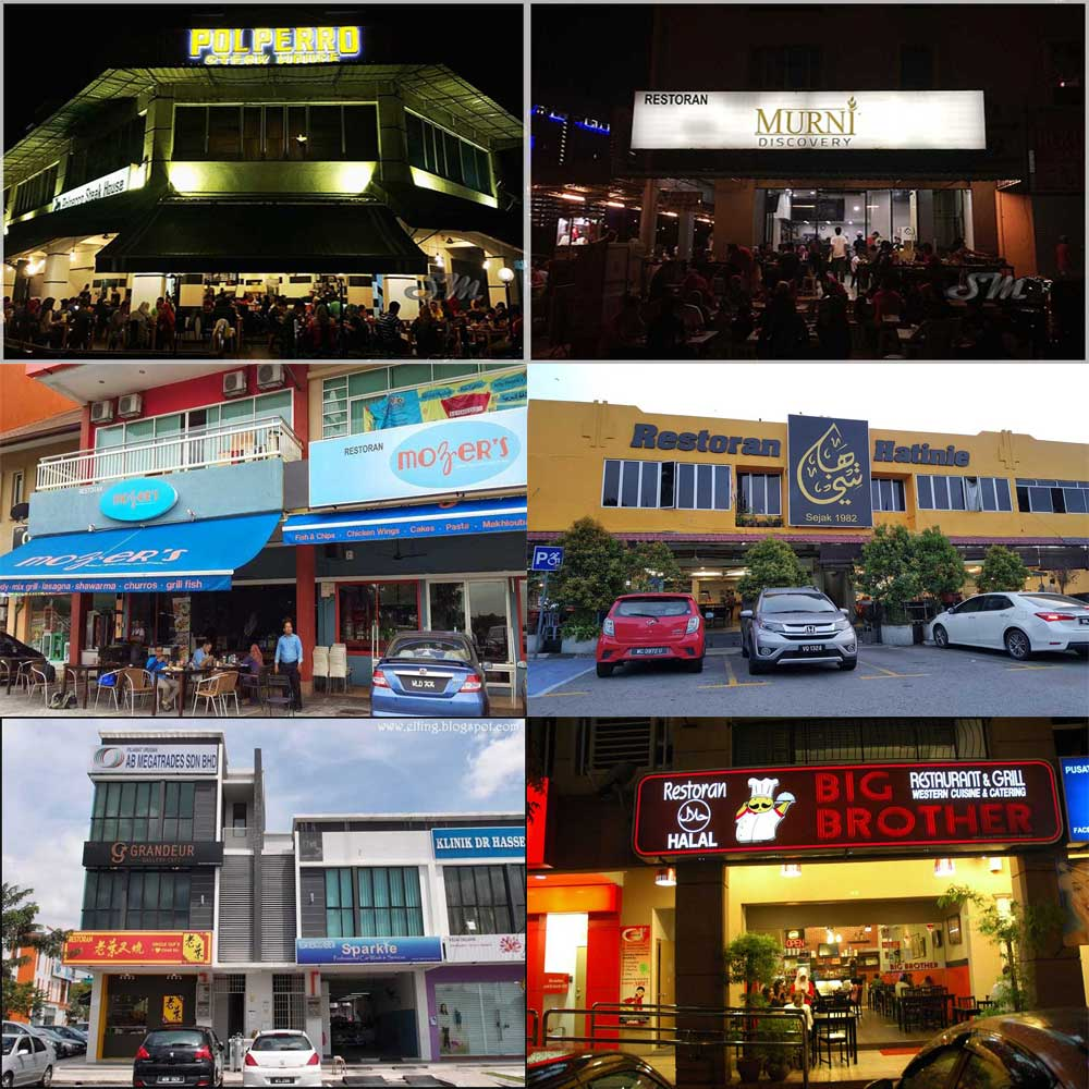 Top 10 Food Places in Shah Alam